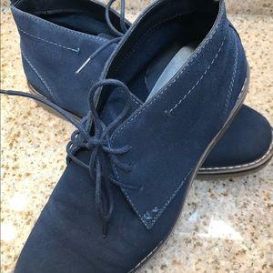 Blue suede shoes for men MADDEN/